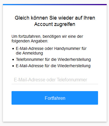 Yahoo Problem mit Login